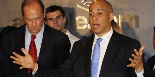 Cory Booker Announces Campaign For Senate