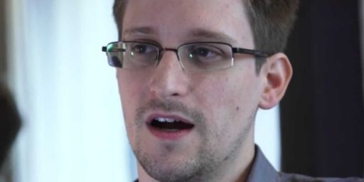 U.S. To Russia: We Won't Seek Death Penalty For Edward Snowden