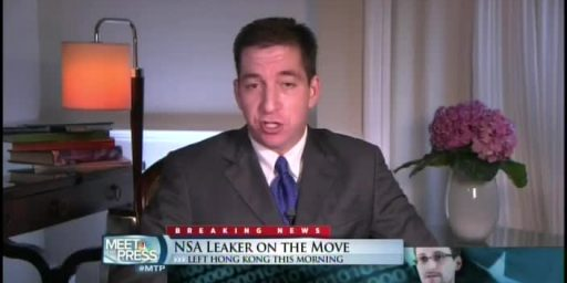 David Gregory Asks If Glenn Greenwald Should Be Prosecuted