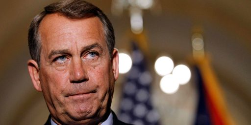 Boehner Won't Allow Default Over Debt Ceiling, Still Insisting On Negotiations