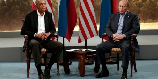 Obama Cancels Summit Meeting With Putin