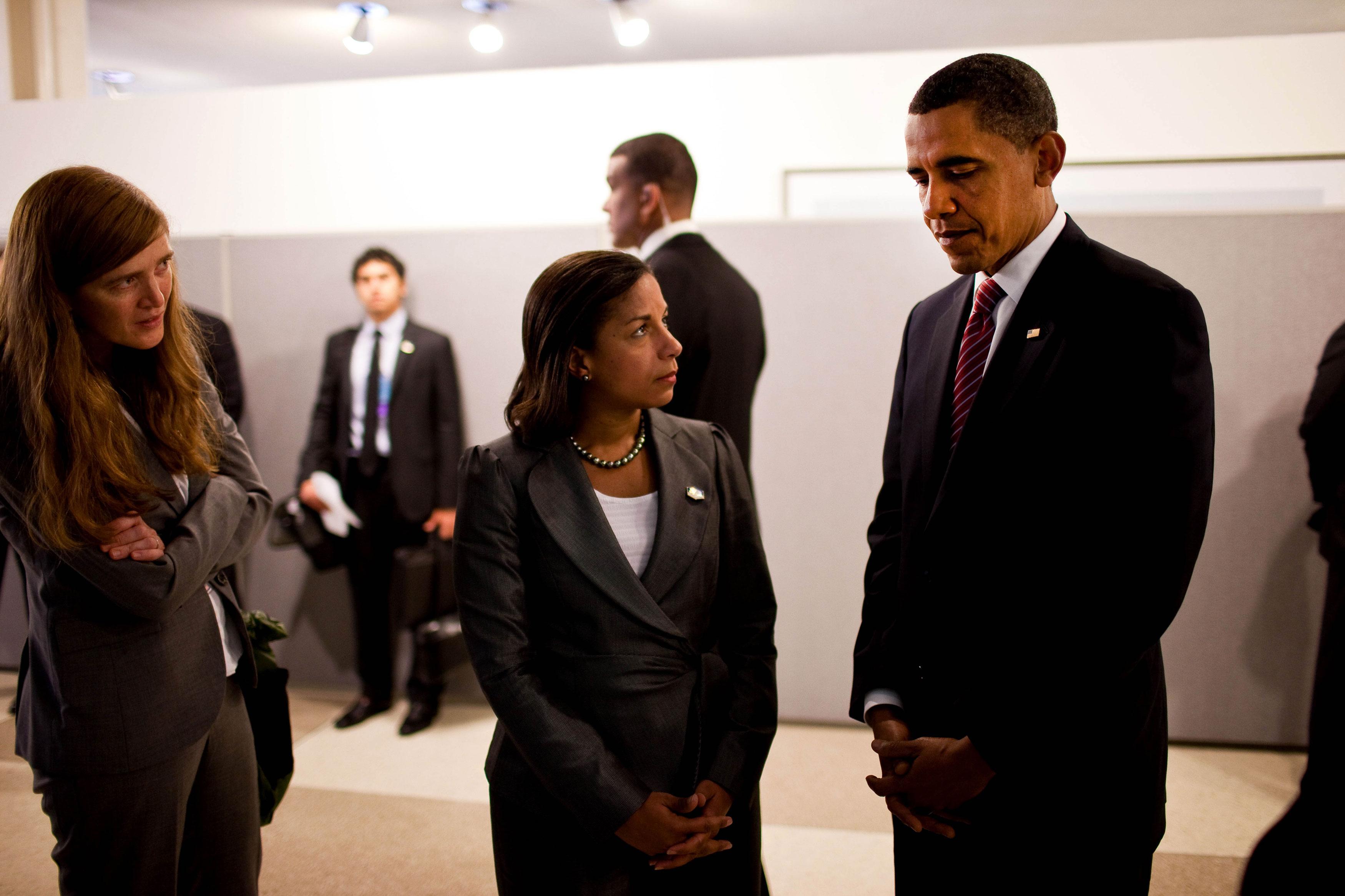 Powers Rice Obama
