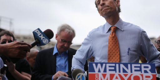 Majority Of New York City Democrats Want Weiner Out Of Mayoral Race