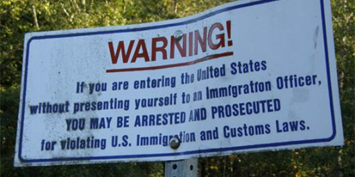 Border Security, Or Just Immigration Reform Obstructionism?