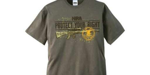 West Virginia Teen Faces Jail Time For Wearing NRA T-Shirt To School