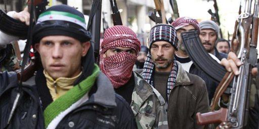 Syrian Rebels Today, Syrian Taliban Tomorrow