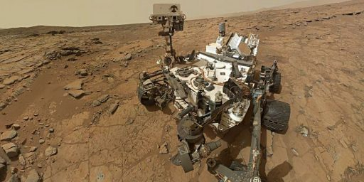 Curiosity Finds Water In The Soil Of Mars