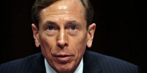 Petraeus CUNY Pay Drops to $1