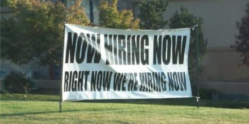 A Booming Jobs Market For February