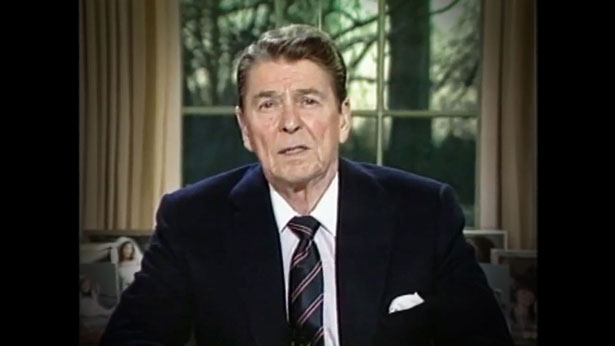 Reagan Challenger Address