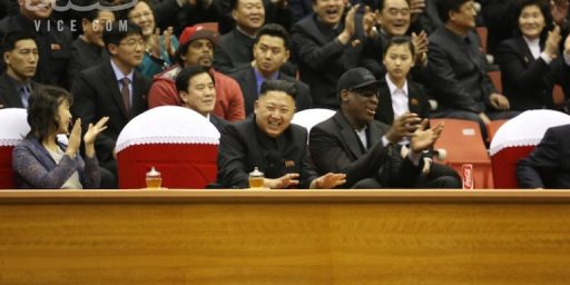 Dennis Rodman Thinks He Deserves A Nobel Peace Prize
