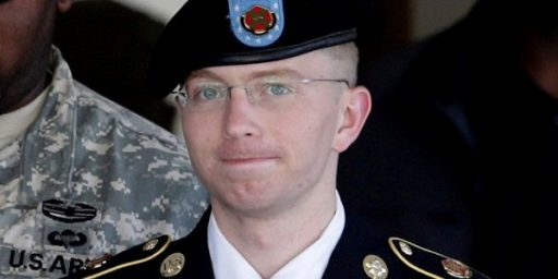 Bradley Manning's Maximum Sentence Reduced By More Than 40 Years