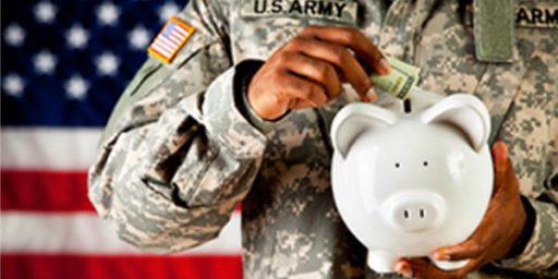 Radical Overhaul of Military Pension System Doesn't Go Far Enough