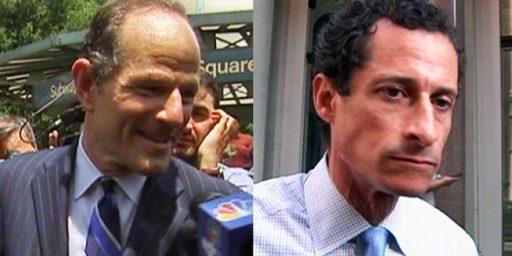 Weiner, Spitzer Lead In Latest NYC Polls
