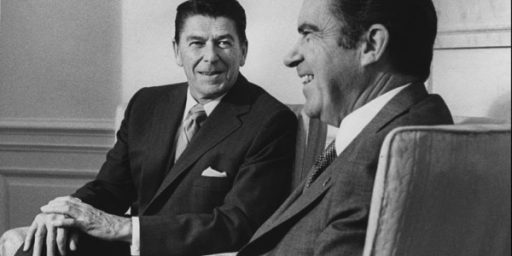 Did Richard Nixon Drunk Dial Ronald Reagan?