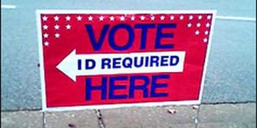 The Scourge that is in-Person Voter Fraud