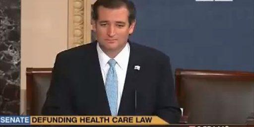 Ted Cruz Tops Poll Of 2016 GOP Contenders