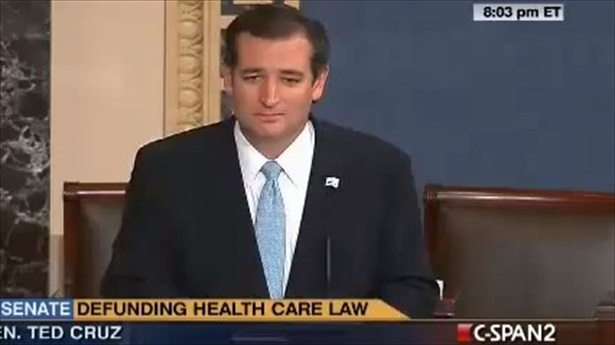Cruz Filibuster