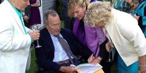 George H.W. Bush Serves As Witness At Same-Sex Wedding