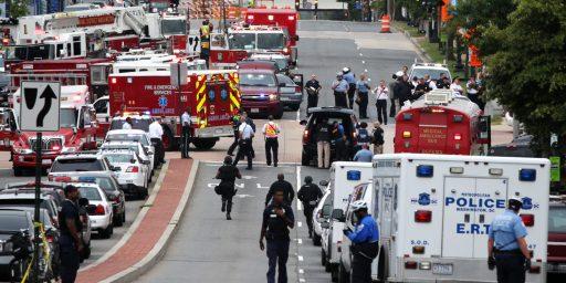 Multiple Casualties In Shooting At Washington Navy Yard