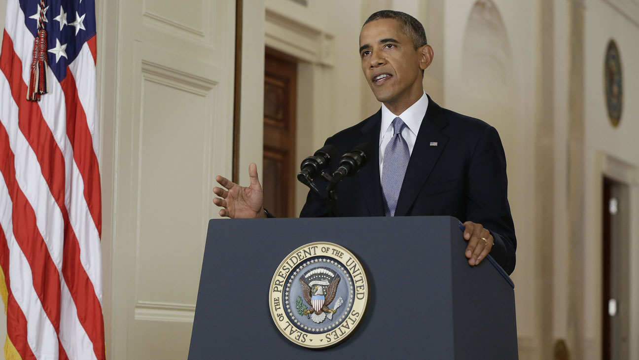 President Obama Addresses The Nation On The Situation In Syria