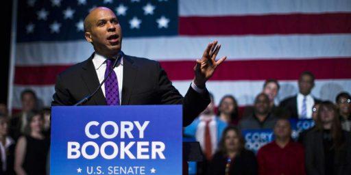 Cory Booker Wins New Jersey Senate Race