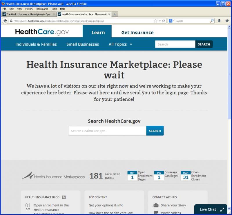 Healthhcaredotgov