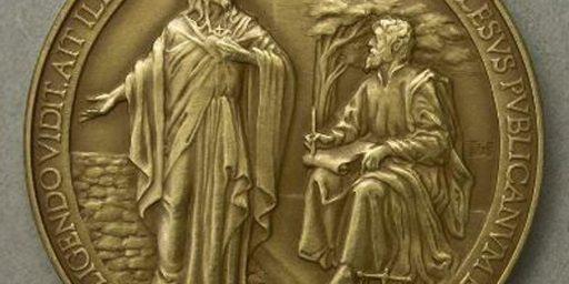 "Vatican Misspells ""Jesus"" On New Papal Coins"