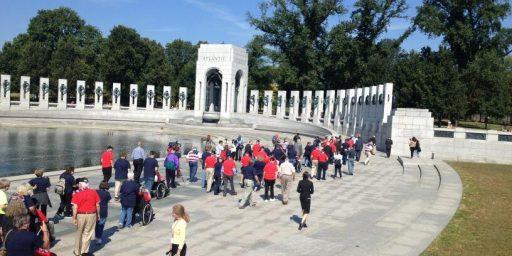 World War II Vets Storm World War II Memorial