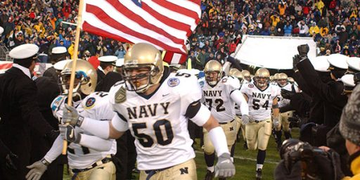 Service Academies Likely To Play Football After All
