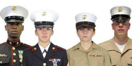 Marines Deem Dan Daly Hat Too Girly
