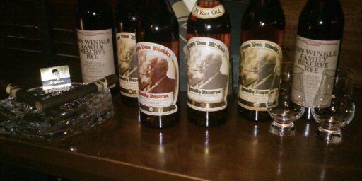 65 Cases Of Pappy Van Winkle Bourbon Go Missing