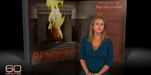 60 Minutes Retracts, Apologizes For, Erroneous Benghazi Report