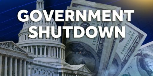 Government Shutdown Looms As Friday Approaches