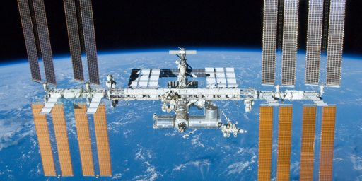 International Space Station Now Broadcasts Streaming Video From Orbit