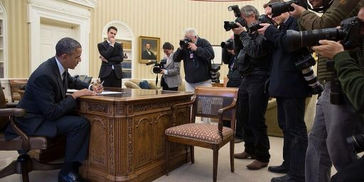 White House Photographers Bristle At Lack Of Access