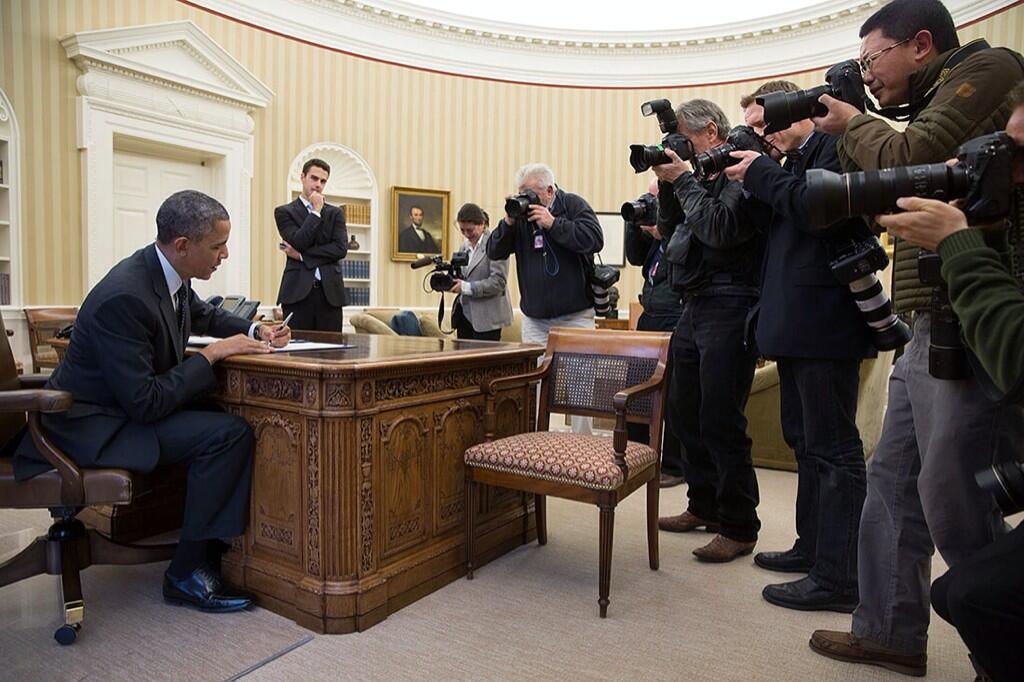 Obama Photographers