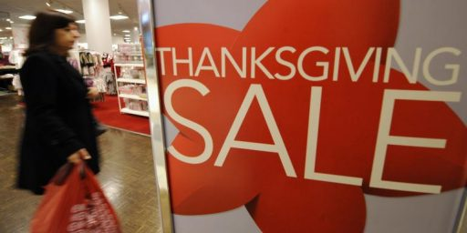 Initial Reports Indicate That Opening On Thanksgiving Was Good For Business