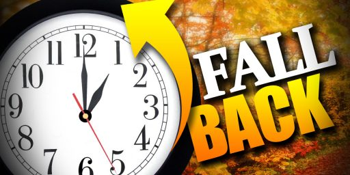 Time To Dump Daylight Saving Time