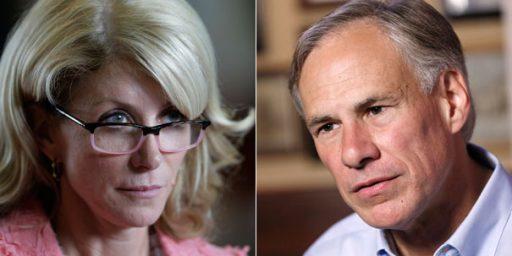 Greg Abbott Leads Wendy Davis In Texas