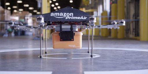 Time To Welcome Our Amazon Delivery Drone Overlords?