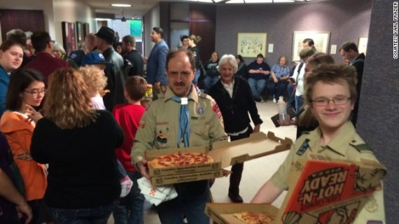 Boy Scouts Pizza Utah