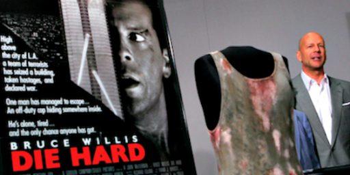 'Die Hard' A Christmas Movie? Hardly