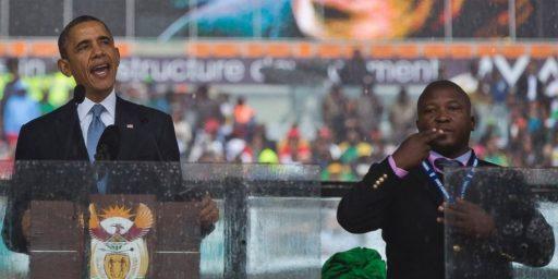 Sign Language Interpreter At Mandela Funeral Was A Fake
