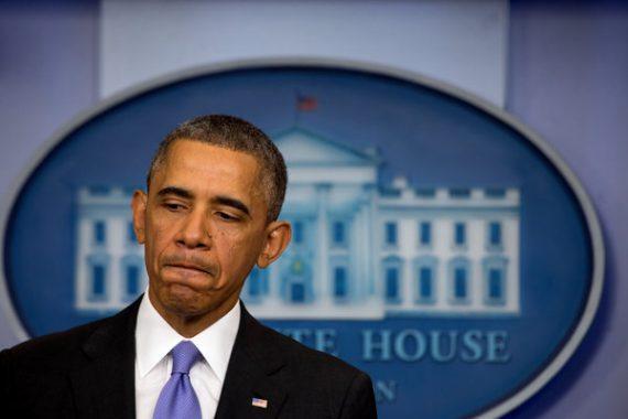 Obama Sad Presser