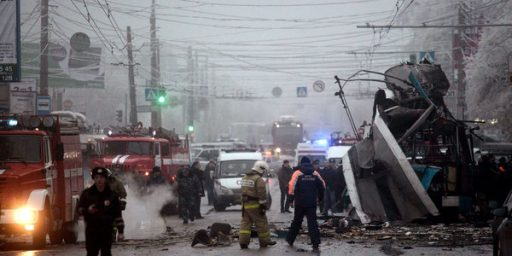 Second Suicide Bombing In Two Days Hits Southern Russia As Olympics Approach