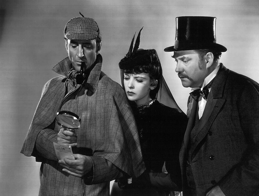 Sherlock Holmes Basil Rathbone