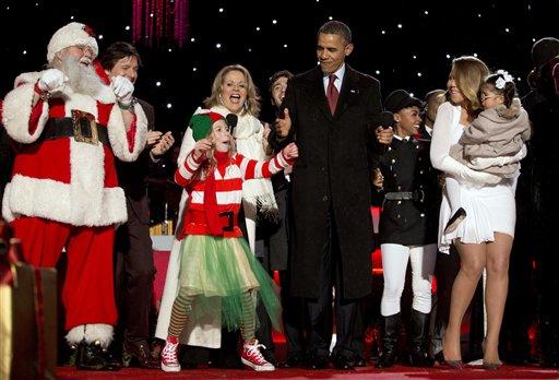 Barack Obama, Joshua Bell, Mariah Carey, Janelle Monáe,  Renee Fleming