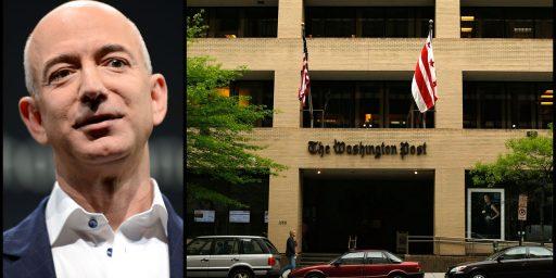 Jeff Bezos Making His Mark At The Washington Post