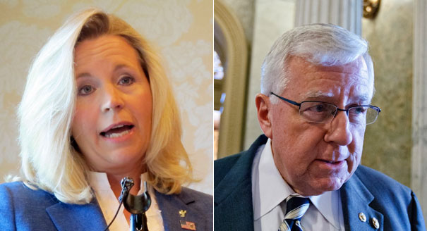 Liz Cheney and Mike Enzi